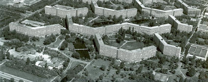 Bijlmermeer, Amsterdam (1962-73)